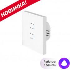 Wi-Fi выключатель BroadLink TC3 на две зоны